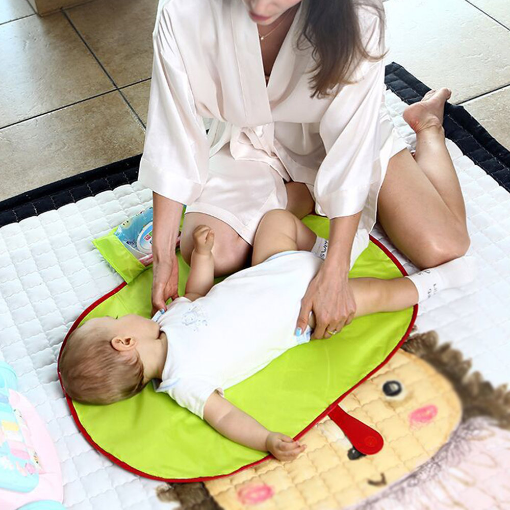 Waterproof Baby Toddler Changing Mat Pad Sheet Portable Travel Diaper
