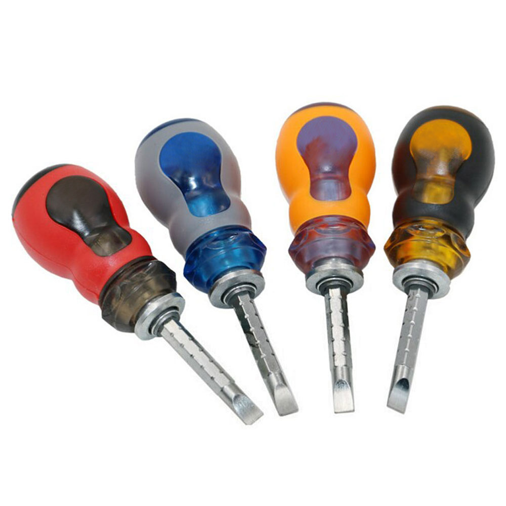 2in1 MultifunctionMini PortableInterchangeableScrewdriver Hammer W/Magnetic