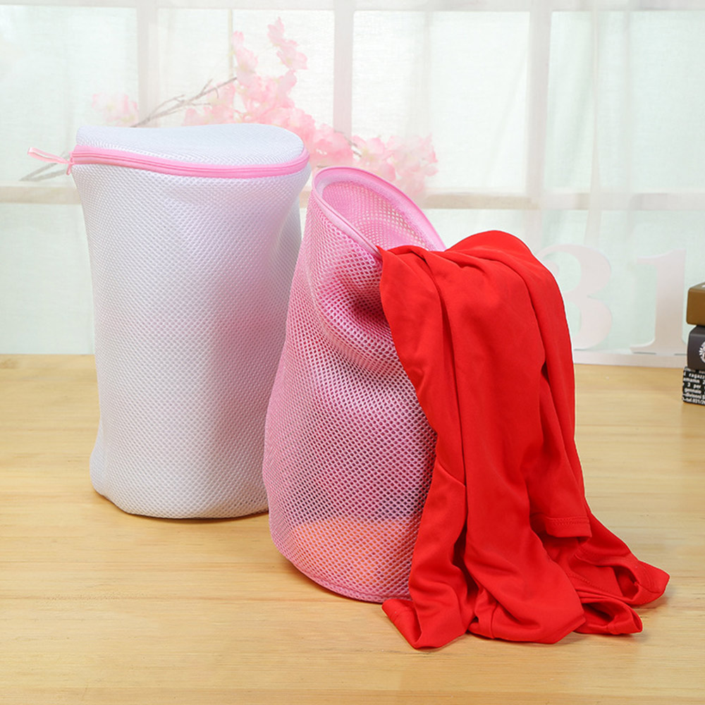 Thicken Mesh Linger Underwear Bra WashingBagBasket Laundry StorageOrganizer