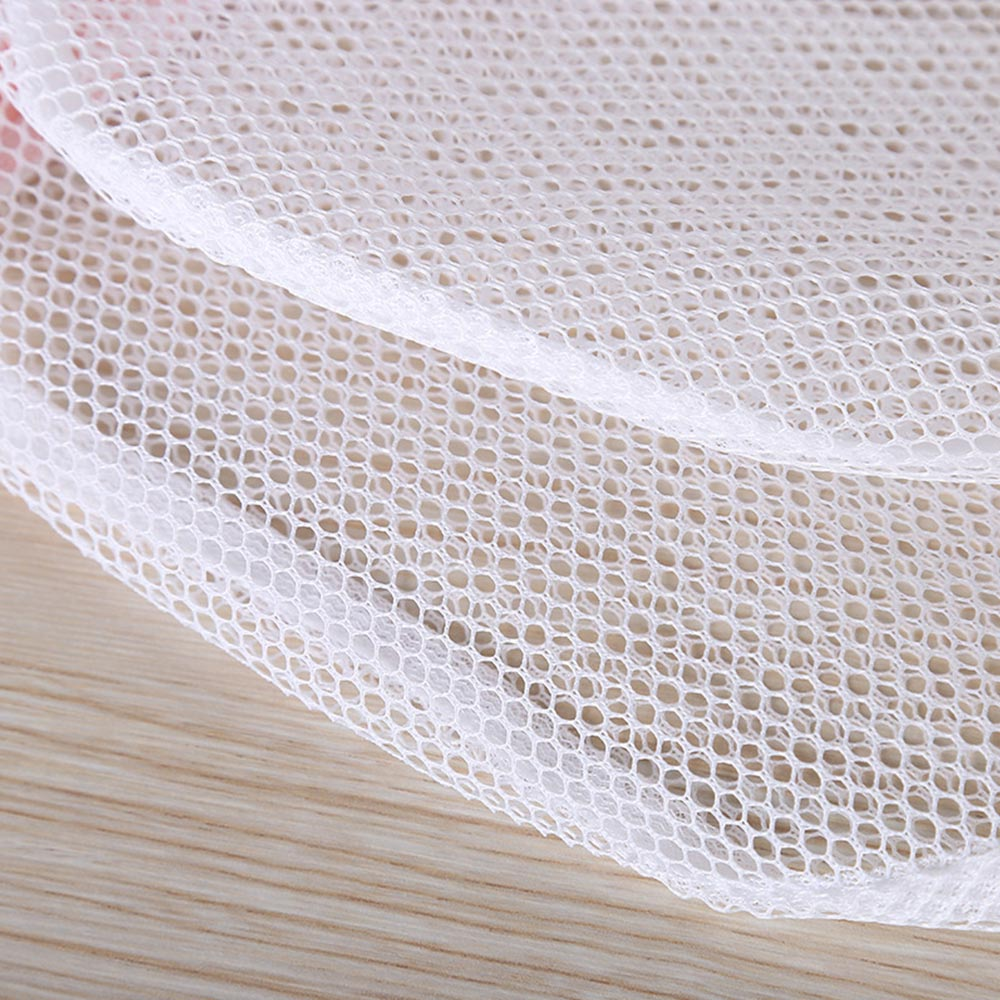Cylindrical Mesh Bra Lingerie Laundry Washing Bag Basket Organizer Holder