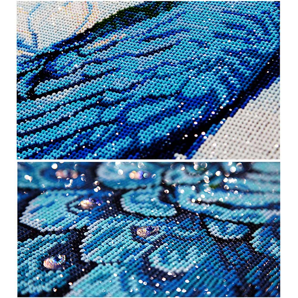 5D Resin Diamond Rhinestone Painting DIY PeacockArt Craft Crossstitch Decor