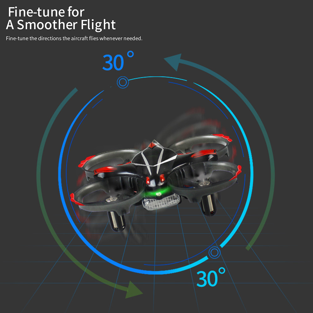 2.4G T2 Portable IR Infrared RC Remote Control Drone Helicopter Quadcopter
