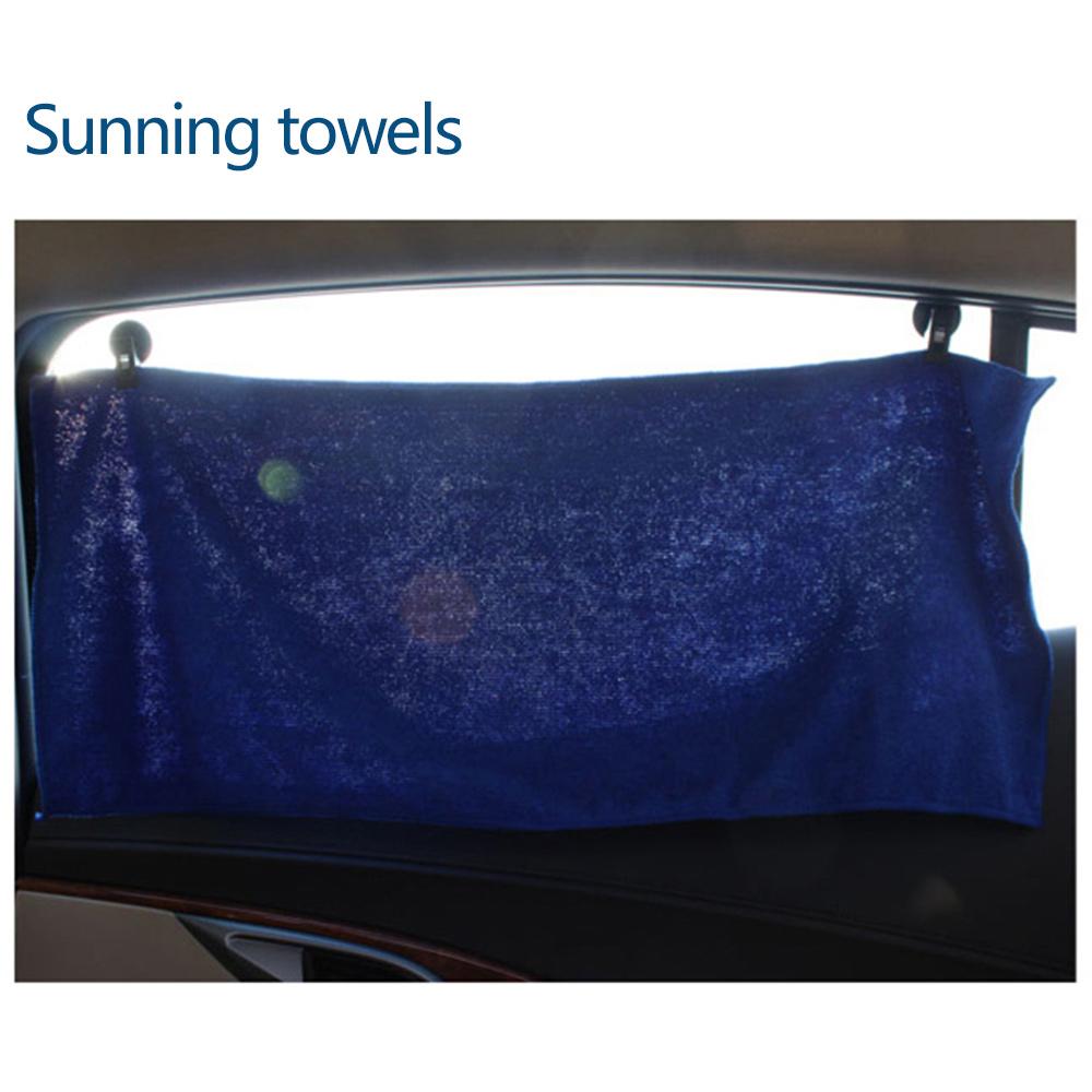 2pcs Car Window Mount Sucker Clip Hook Holder For Sun Shade Towel Card Ticket