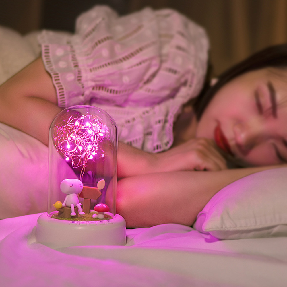Wholesale LED Bluetooth Speaker Nightlight Dream Streamer Wish GlassBottle GiftType 2