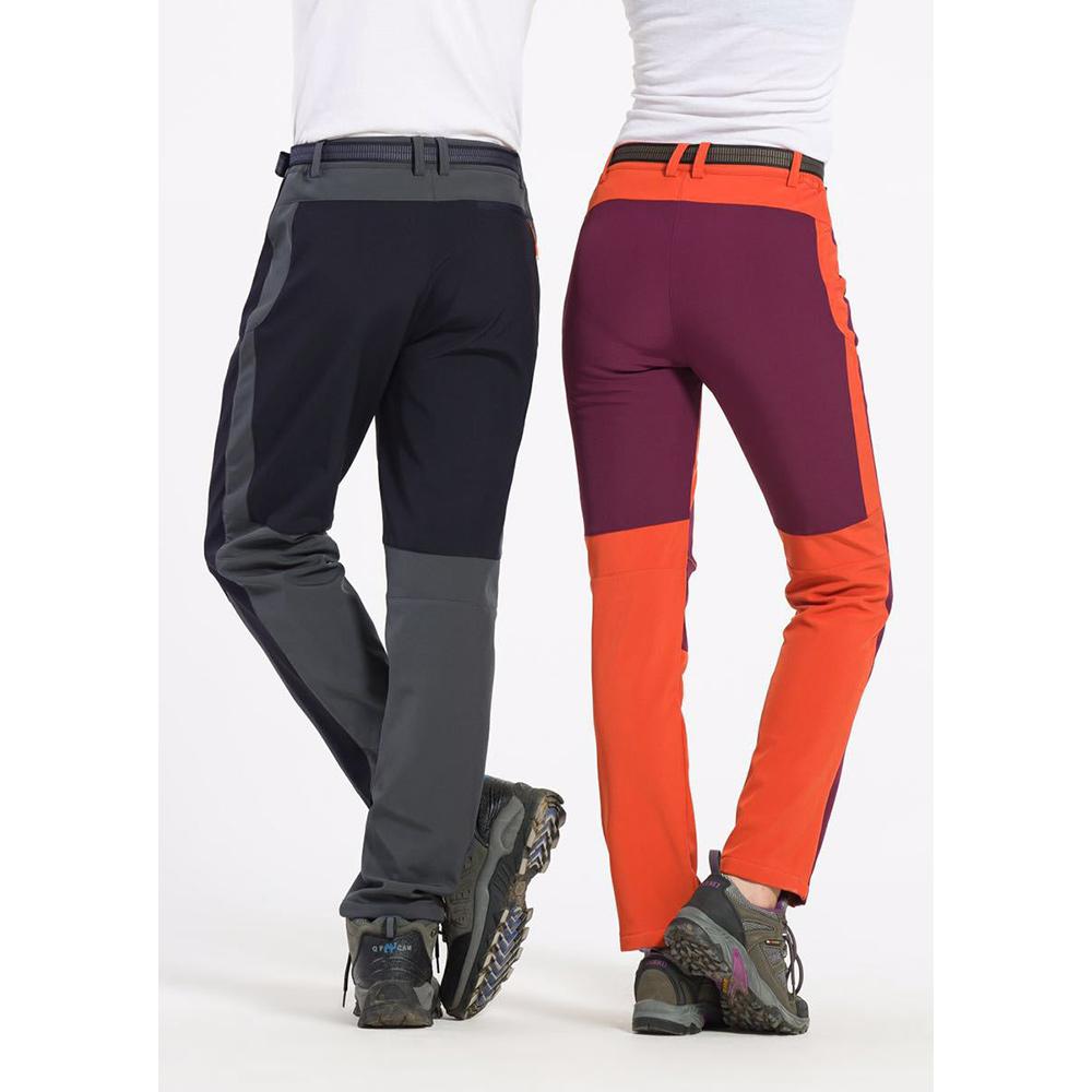 Winter Hiking Fleece Softshell Pants Men And Women Outdoor Trousers  Waterproof.   601dfaae0