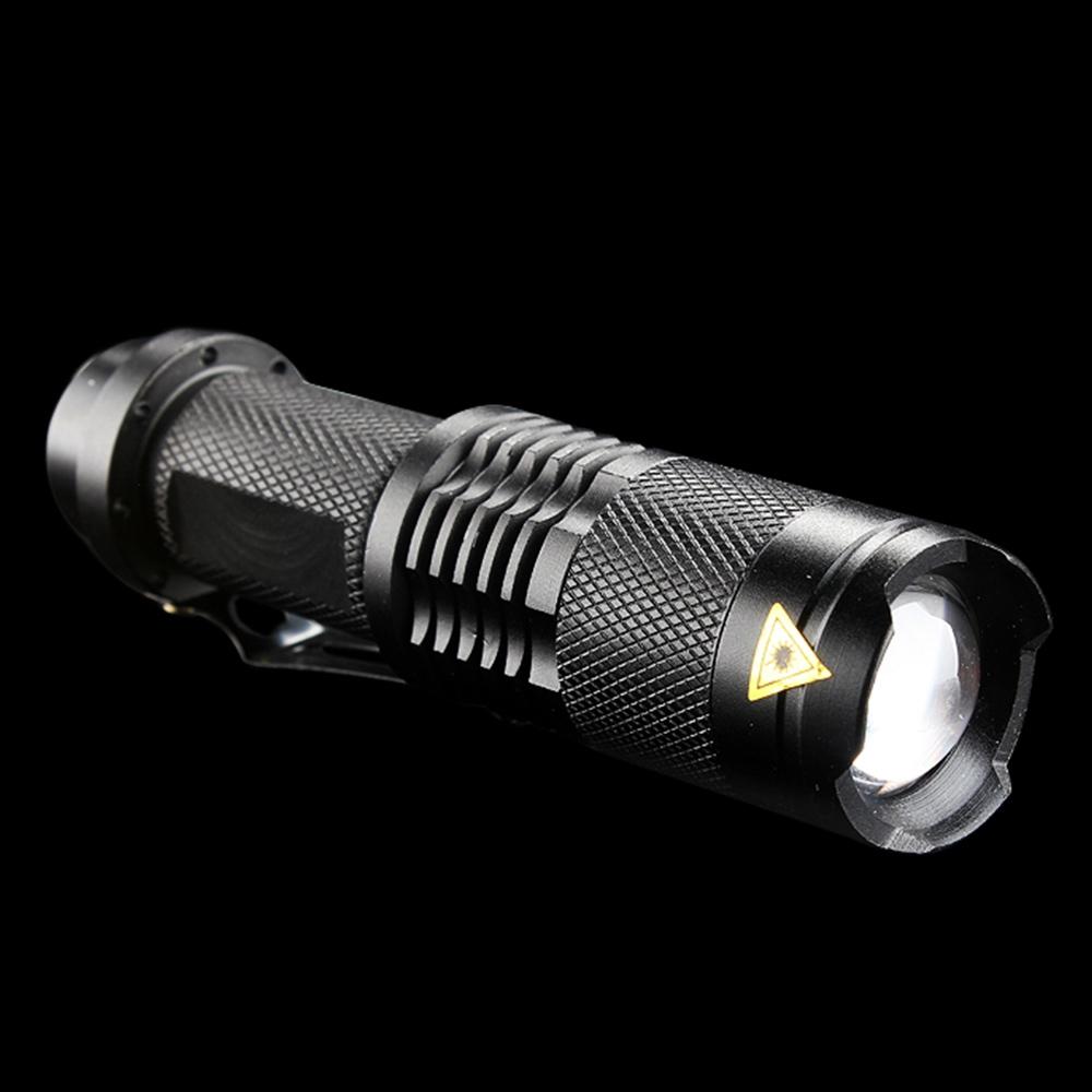 3-Mode Focus Adjustable Ultra Violet Purple UV LED Light Flashlight Torch