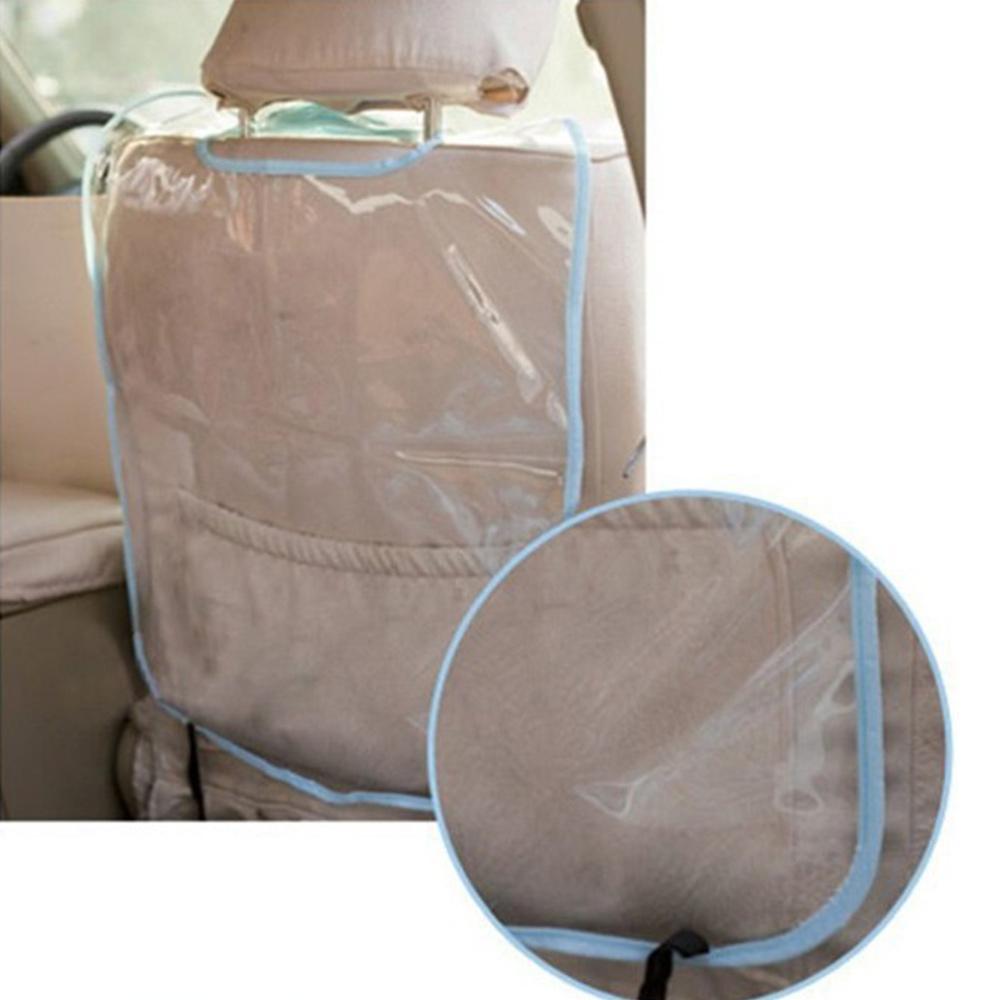 Wholesale PVC Car Seat Back Cover Transparent Pad Anti Dirty Kick Guard Protector Mat