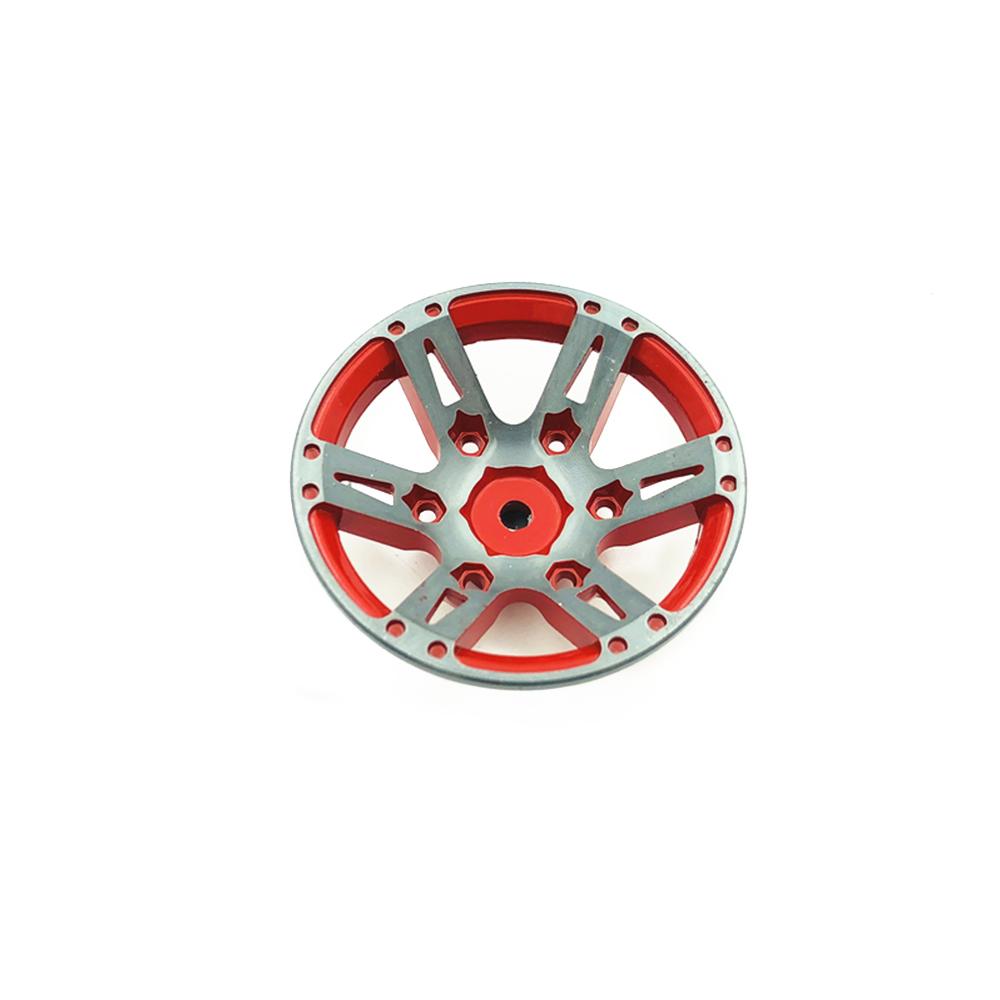 4pc RC Rock Climbing Metal Wheel Rim 1.9 Inch for 1/10 Axial SCX10
