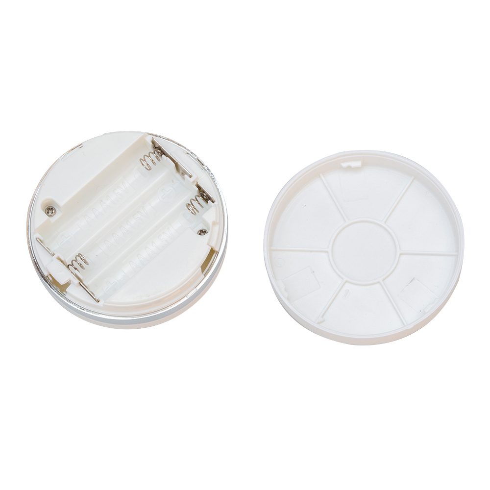 Wireless LED Puck Light W/Remote Control Dimmable Under Cabinet Closet Lamp