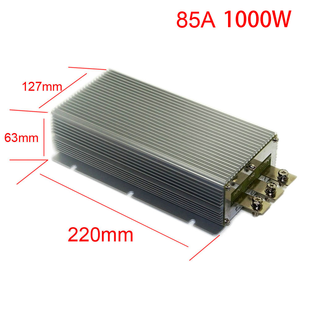 DC24V Step Down12V 50A 60A 75A 85A Power Supply Converter Module Waterproof