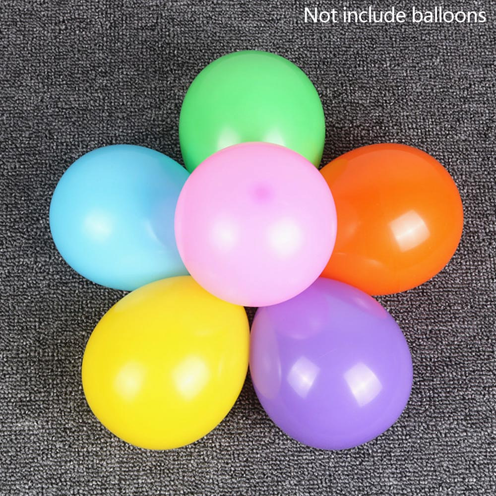 Flower Shape Balloon Clips Holder Balloons Clamp Wedding Party Decor 10pcs