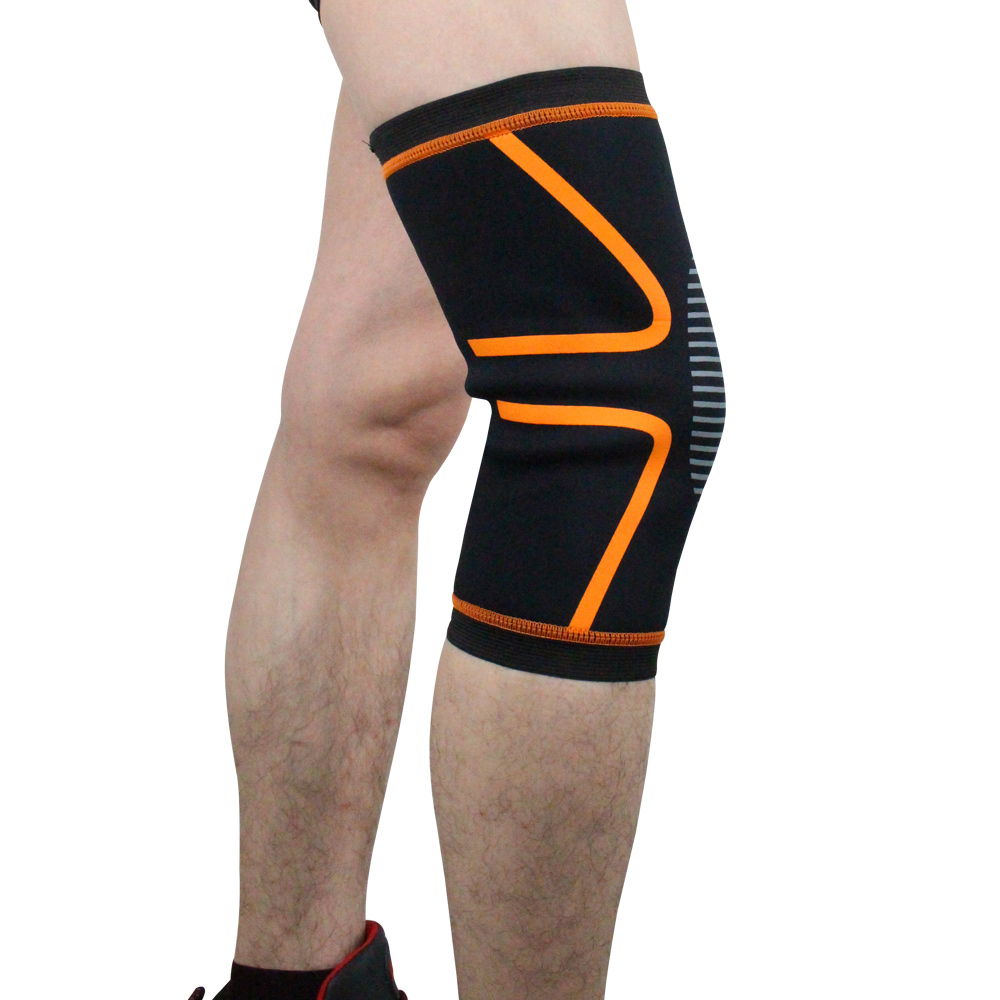 Compression Knee Sleeve Brace for Arthritis Pain Relief Volleyball Football