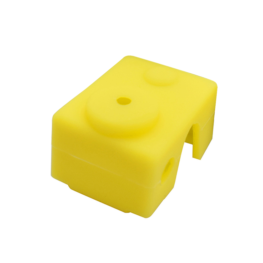 Wholesale 3D Printer Silicone Sock Heater Block Cover E3D-V6 Hotend Protect Yellow