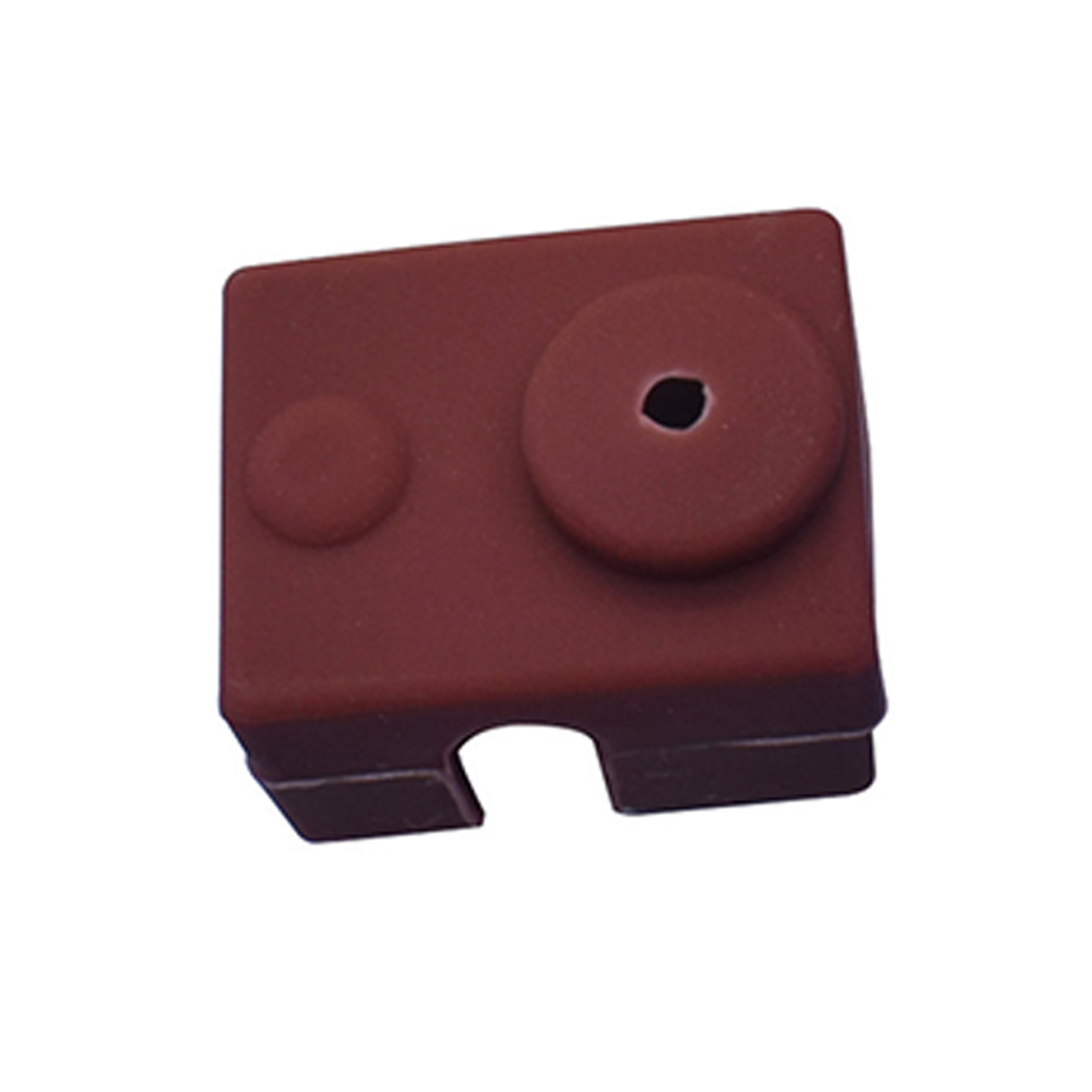 Wholesale 3D Printer Silicone Sock Heater Block Cover E3D-V6 Hotend Protect Brown