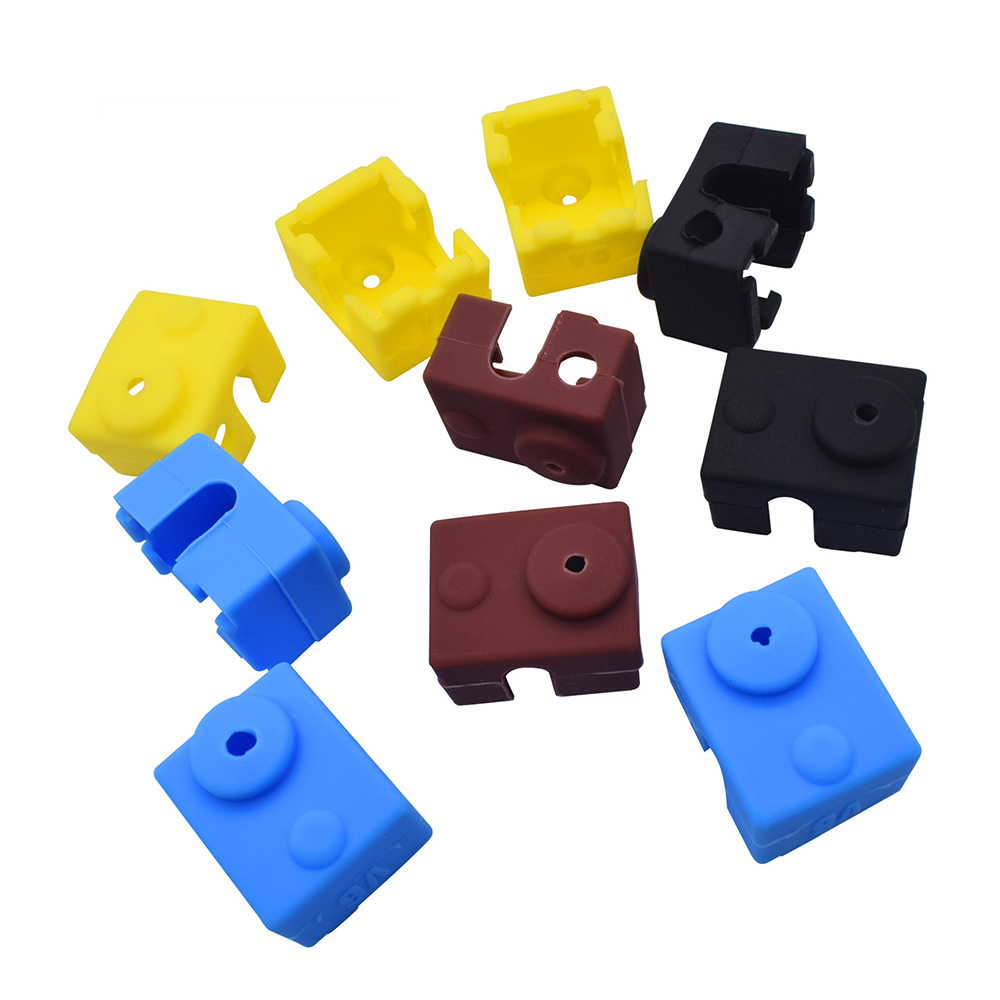 3D Printer Silicone Sock Heater Block Cover E3D-V6 Hotend Heater Protect