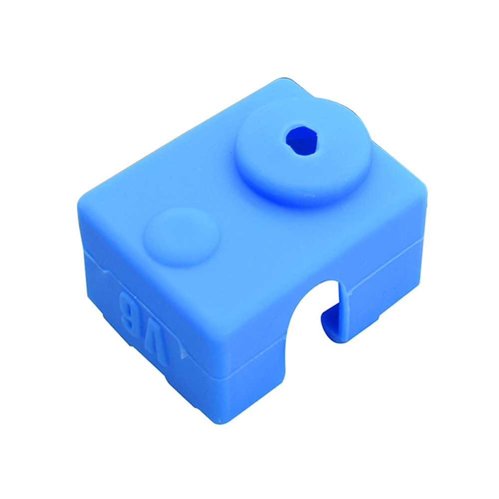 Wholesale 3D Printer Silicone Sock Heater Block Cover E3D-V6 Hotend Protect Blue