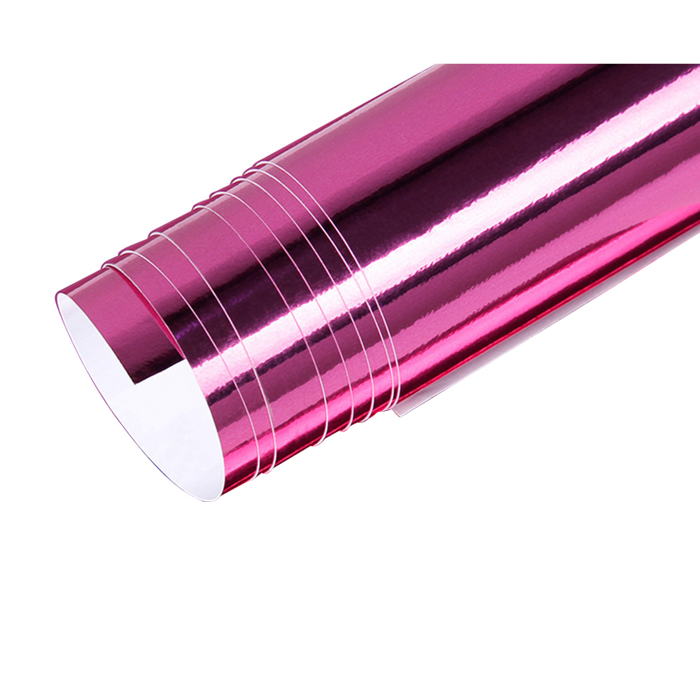 Mirror Vinyl Wrap Film High Gloss Car Plating Adhesive Sticker Decal Sheet