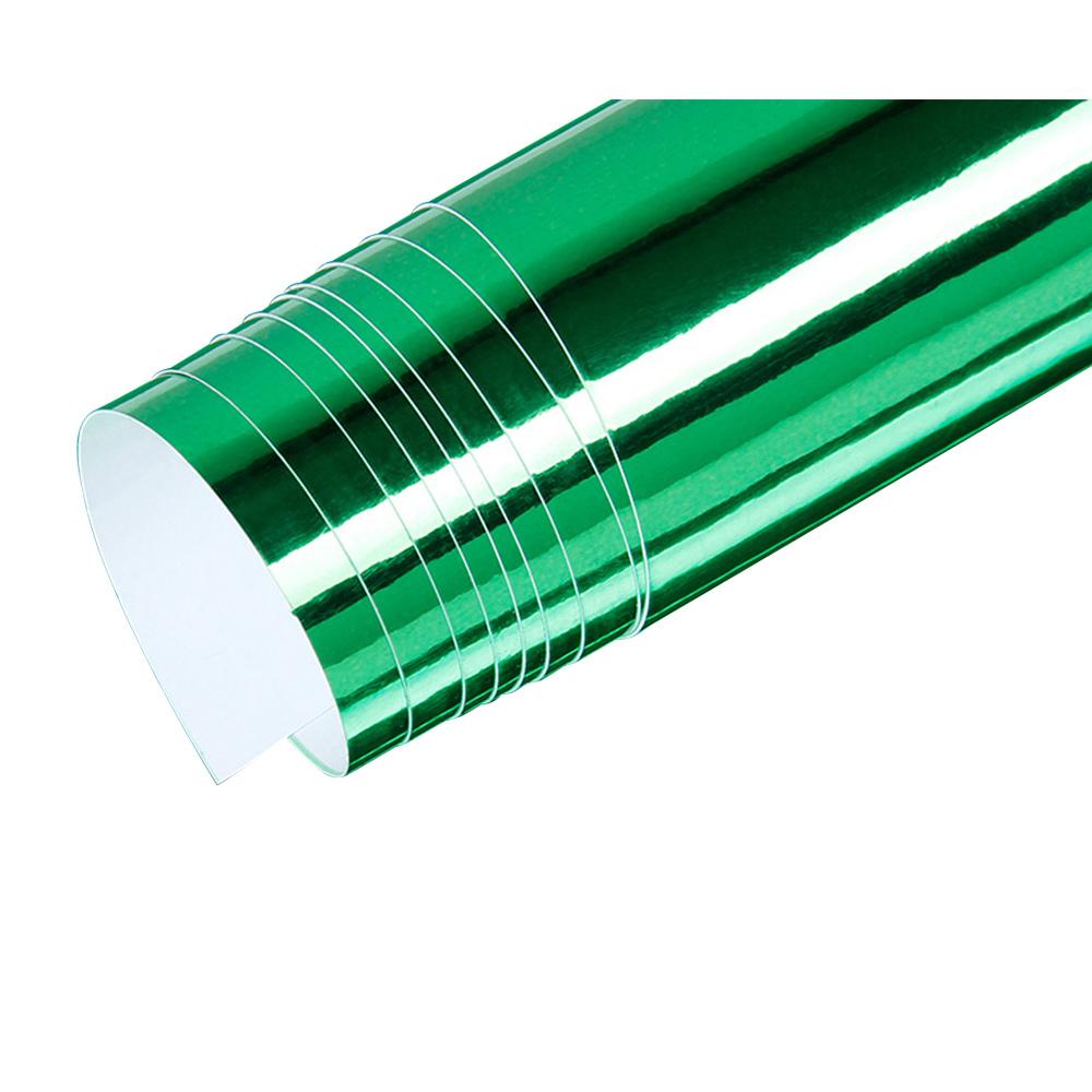 Mirror Vinyl Wrap Film High Gloss Car Plating Adhesive Sticker Decal Sheet