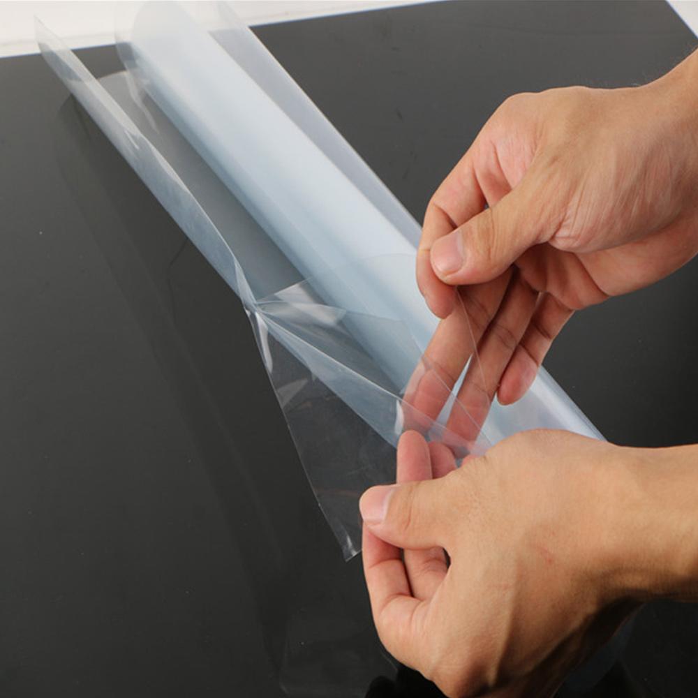 Transparent Car Wrap Vinyl Film High Gloss Clear 3Layer Sticker Decal Sheet