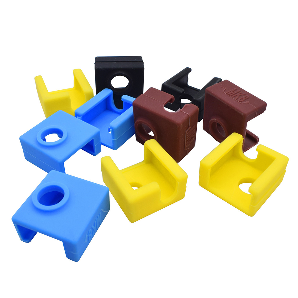 Wholesale 3D Printer Silicone Sock Heater Block Cover MK7 MK8 Hotend Heater Protect