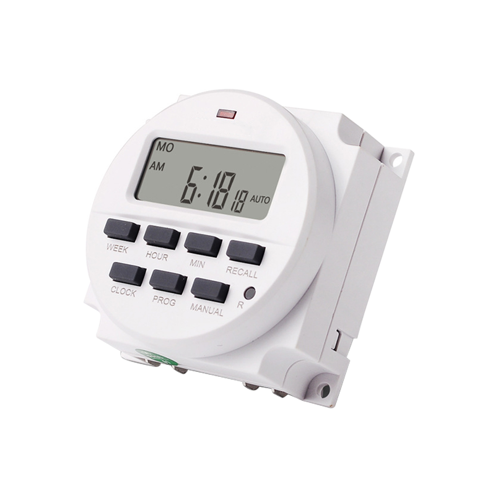 7 Day Heavy Duty Digital Programmable Timer LCD Power Time Control Switch