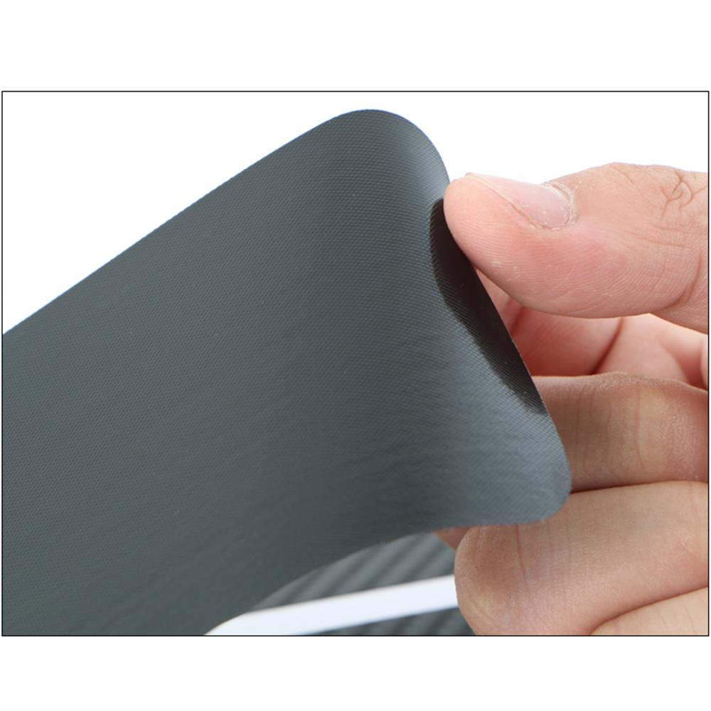 Wholesale Door Sill Protector 3D Carbon Fiber Car Doors Guard Bumper Protection