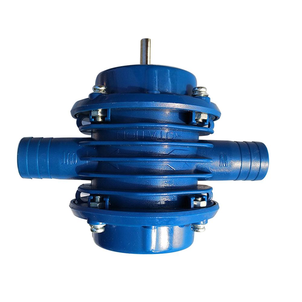 Micro Electric Drill Water Pump Self-priming DC Portable Centrifugal Pump
