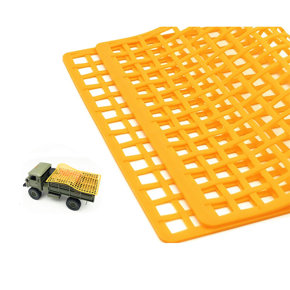 Wholesale Rubber Window Decoration Luggage Net for UDR RR10 TRX4 RC Car Truck Orange