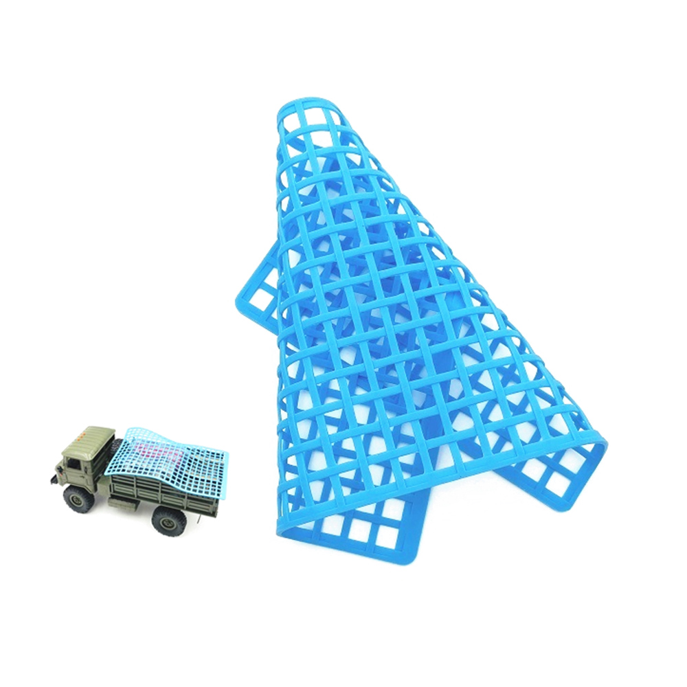 Wholesale Rubber Window Decoration Luggage Net for UDR RR10 TRX4 RC Car Truck Blue