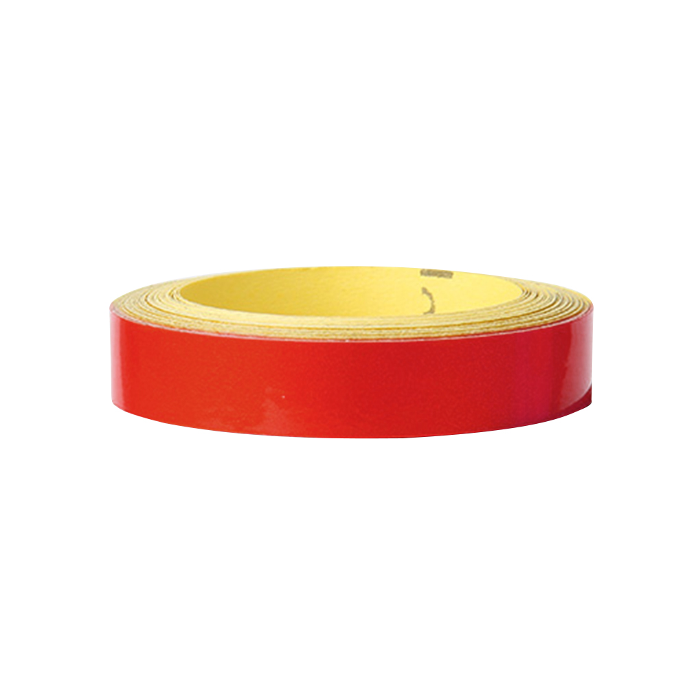 Wholesale Bicycle ReflectiveSticker MTB Motorcycle Fluorescent Wheel Rim Tape 1cm Red