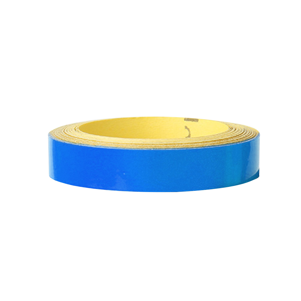 Wholesale Bicycle ReflectiveSticker MTB MotorcycleFluorescent Wheel Rim Tape 1cm Blue