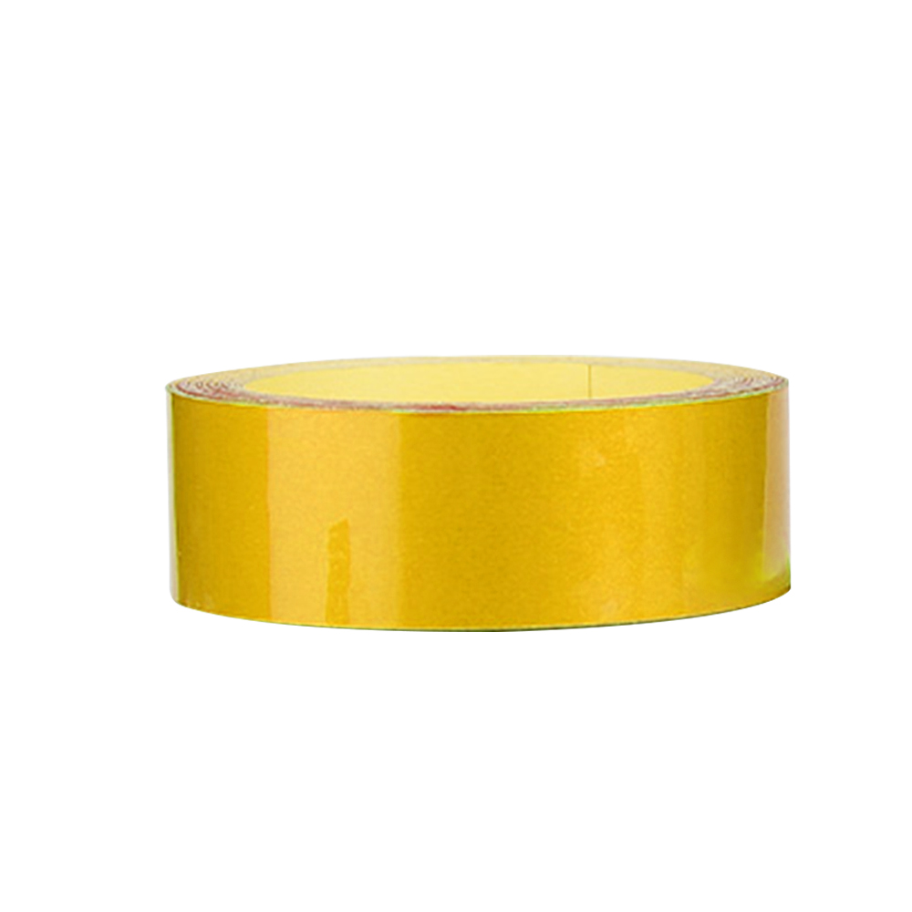 Wholesale Bicycle ReflectiveSticker MTB MotorcycleFluorescentWheel RimTape 2cm Yellow
