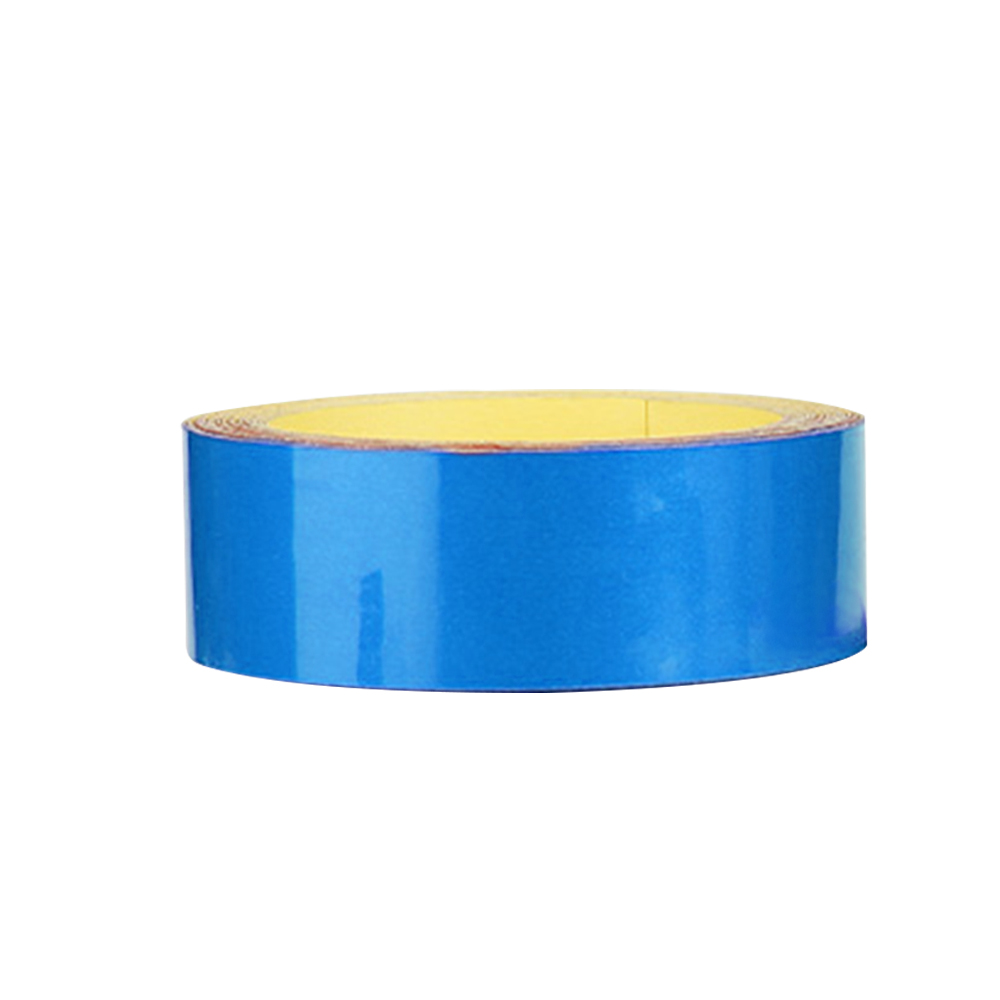 Wholesale Bicycle ReflectiveSticker MTB MotorcycleFluorescent Wheel Rim Tape 2cm Blue