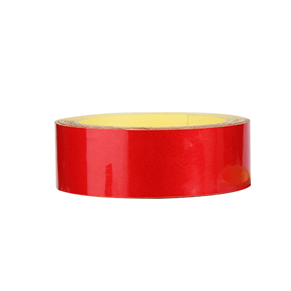 Wholesale Bicycle ReflectiveSticker MTB Motorcycle Fluorescent Wheel Rim Tape 2cm Red